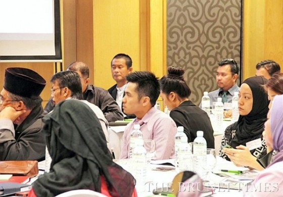 Some of the participants attending yesterday's Local Business Development programme organised by Asia Inc Forum. BT/Leo Kasim