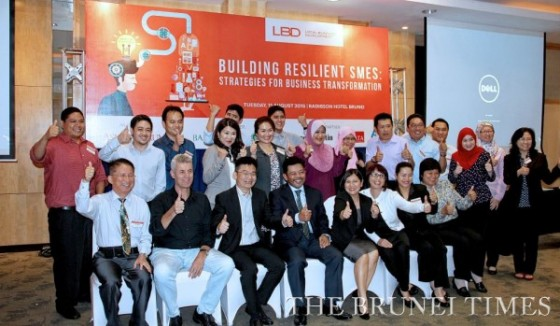 Participants from various companies attending a Local Business Development Forum hosted by AsiaIncForum. BT/Koo Jin Shen