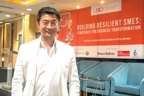 Dato David Cheang, the Founder and CEO of DC 13 Development Pte Ltd. – DANIAL NORJIDI