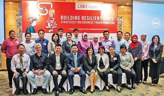 Participants, organisers and facilitators in a group photo. – DANIAL NORJIDI